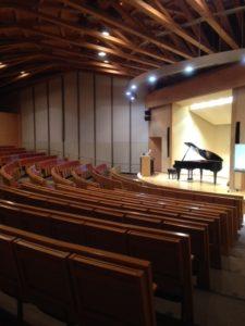 秋田国際教養大学ホール