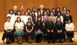 横浜市青葉区大人のピアノ教室 あおばピアノの部屋コンサート写真